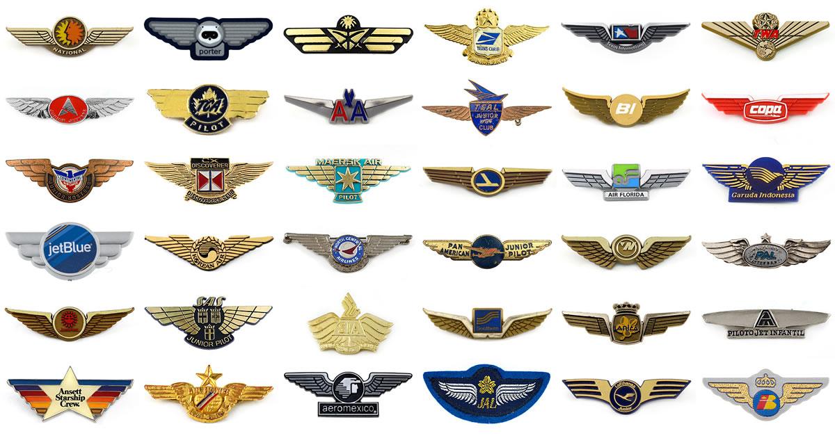 Airline junior wings « Fly the Branded Skies