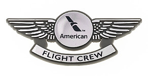 American Airlines Flight Crew Wings