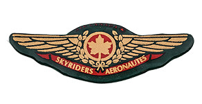 Air Canada Skyriders Aéronautes Wings