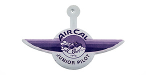 Air California Junior Pilot Wings