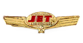 Air France Intercontinental Jet Wings