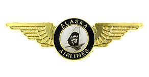 Alaska Airlines Wings