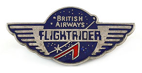 British Airways Flightrider Wings