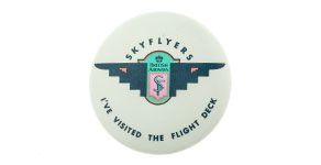 "British Airways Skyflyers Wings � ""I've Visited the Flight Deck"""