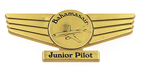 Bahamasair Junior Pilot Wings
