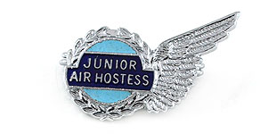British Midland International Junior Air Hostess Wings