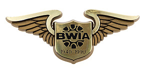 BWIA West Indies Airways 1940-1990 Wings