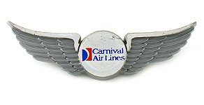 Carnival Air Lines Wings