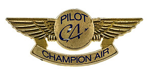 Champion Air Pilot Wings