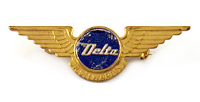 Delta Air Lines Junior Stewardess Wings