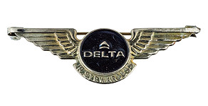 Delta Air Lines Jr. Stewardess Wings
