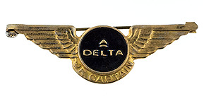 Delta Air Lines Jr. Captain Wings