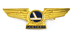 Eastern Air Lines Wings (Junior Stewardess card)
