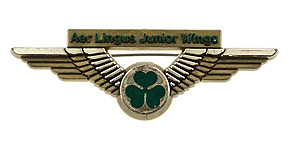 Aer Lingus Junior Wings (small shamrock)