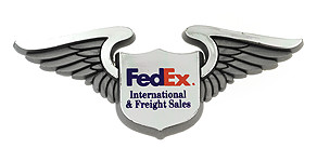 FedEx Express International and Freight Sales Wings