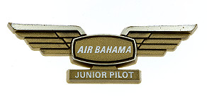International Air Bahama Junior Pilot Wings