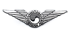 Korean Air Wings (silver)