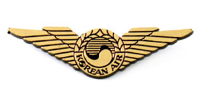 Korean Air Wings (gold)