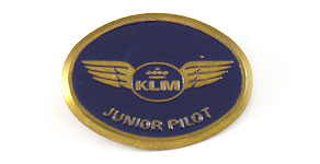KLM Junior Pilot Wings