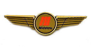 Midstate Airlines Wings