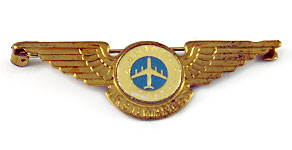National Airlines Junior Stewardess Wings