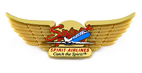 Spirit Airlines Catch the Spirit Wings