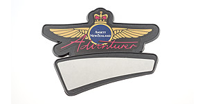 Ansett New Zealand Adventurer Wings with Name Badge