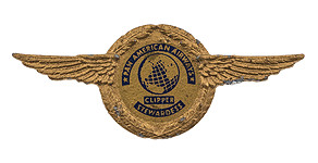Pan American World Airways Clipper Stewardess Wings