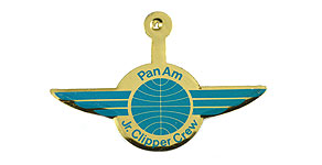 Pan American World Airways Jr. Clipper Crew Wings
