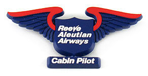 Reeve Aleutian Airways Cabin Pilot Wings
