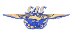 Scandinavian Airlines Junior Pilot Wings