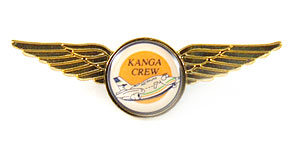 Australian Airlines Kanga Crew Wings