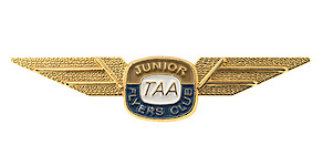 Australian Airlines Junior Flyers Club Wings