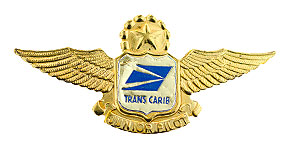 Trans Caribbean Airways Junior Pilot Wings