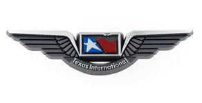 Texas International Airlines Wings