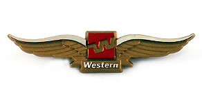 Western Airlines Wings