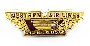 Western Airlines Junior Pilot Wings