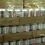 Pallets full of Diet Coke.