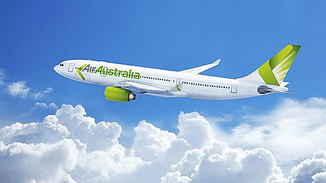 New Air Australia livery