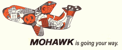 Mohawk is going your way.