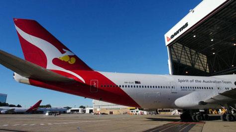 Qantas Olympics livery