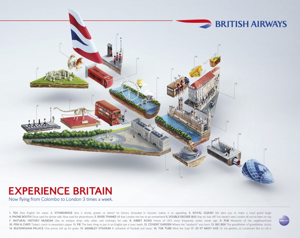 British Airways: Experience Britain
