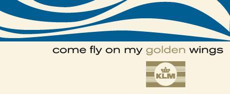 KLM: Come Fly On My Golden Wings