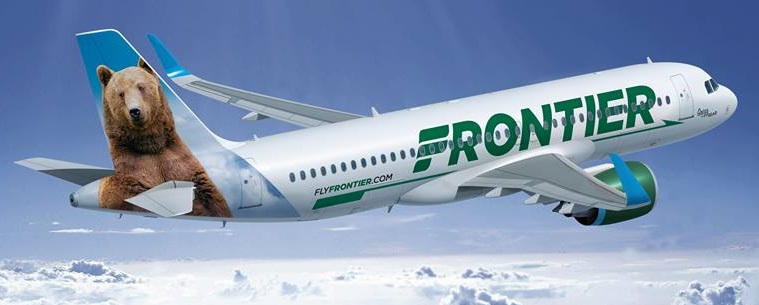 The new Frontier Airlines livery
