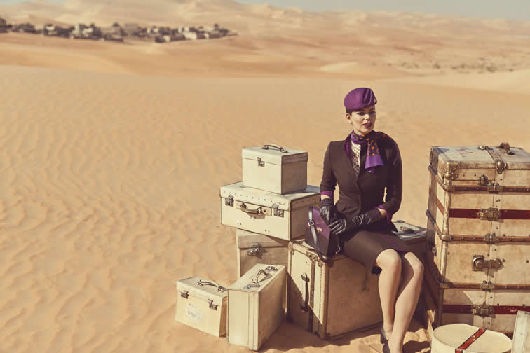 New Etihad flight attendant's uniform